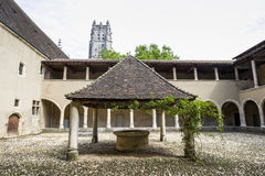 Church of Brou (Bourg-en-Bresse) Stock Images