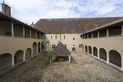 Church of Brou (Bourg-en-Bresse), cloister Royalty Free Stock Photo