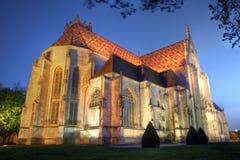 Church of Brou Monastery, France stock photos