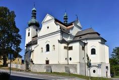 Church in Buchlovice,Czech republic Stock Photos
