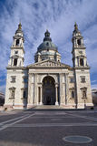Church in Budapest. Saint Stephen's Basilica in Budapest, Hungary Stock Image