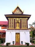 Church of Buddist book in unique Thai art Royalty Free Stock Images