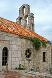The church of Budva old town Royalty Free Stock Images