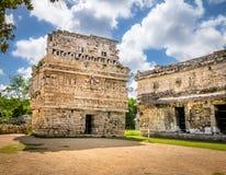 Church Building in Chichen Itza - Yucatan, Mexico Royalty Free Stock Photography