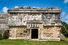 Church Building in Chichen Itza - Yucatan, Mexico Stock Photos