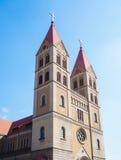 Church building. At china qingdao Royalty Free Stock Image