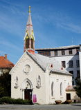 Church building. In city Piestany, Slovakia Stock Photo