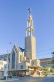 Church Building Exterior View Comodoro Rivadavia Argentina royalty free stock images