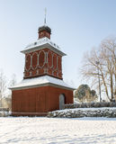 Church Building In Nordmaling, Sweden Stock Photography