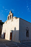 Church building inside Preveli monastery, island of Crete Stock Photography