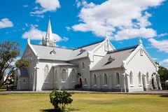 Church building in Robertson Royalty Free Stock Images