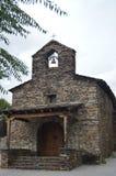 Church Built Of Slate In Campillejo. October 18, 2013. Campillejo, Pueblos Negros, Guadalajara, Castilla La Mancha, Spain. Rural stock photos
