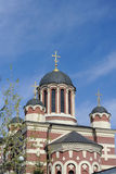 Church in Byzanthhine style in Moscow Stock Photos