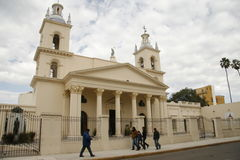 Church in córdoba. The main church in the capital of cordoba, argentina Royalty Free Stock Photo