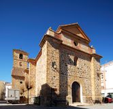 Church, Cadiar, Spain. Stock Photo