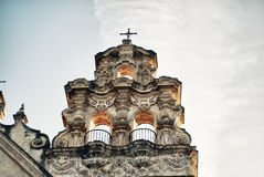 Church in Cadiz Stock Photography