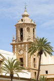 Church of Cadiz Stock Photo