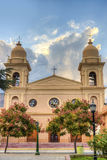 Church in Cafayate in Salta Argentina. Royalty Free Stock Image
