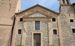 Church of Caldarola, Marche. A view of Caldarola church, marche Royalty Free Stock Photography