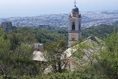 Church of Camaldoli Stock Photos