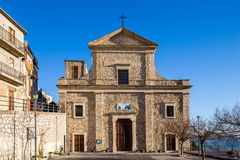 Church in Cammarata, Sicily, Italy Royalty Free Stock Photography