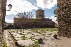 Church of Campillo de Ranas, Guadalajara, Spain Stock Image