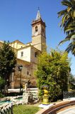 Church, Campillos, Andalusia, Spain. Royalty Free Stock Photos