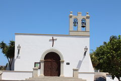 A church in the Canaries Stock Images
