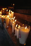 Church candles Royalty Free Stock Photography