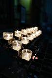 Church candles Royalty Free Stock Photos