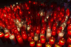 Church candles. Stock Photography