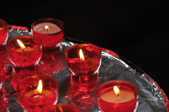 Church candles Stock Photo