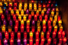 Church candles Stock Photos