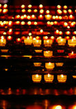 Church candles Royalty Free Stock Photo
