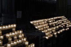 Church Candles Royalty Free Stock Image