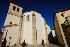 Church in Canencia, Madrid, Spain Royalty Free Stock Photo