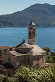 Church in Cannero Riviera, Lago Maggiore Stock Photos