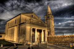 Church in Caorle Royalty Free Stock Photos