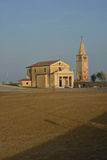 Church in Caorle, IT Royalty Free Stock Image