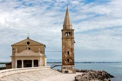 Church in Caorle Italy Stock Photos