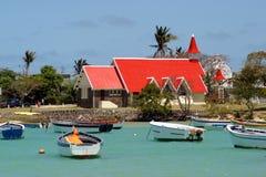 Church at Cap Malheureux Stock Photo