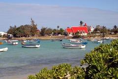 Church at Cap Malheureux Stock Image
