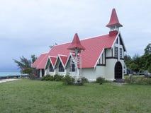 Church at Cap Malheureux, Mauritius royalty free stock photo