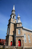 church of Cap Saint Ignace Royalty Free Stock Photos
