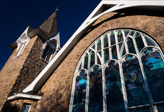Church in Cape May, New Jersey. Royalty Free Stock Photography