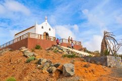 Church in Cape Verde, Africa Stock Image