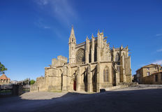 Church of Carcassonne, France Royalty Free Stock Photography