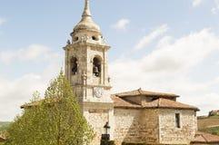 Church of Cardanuela-Riopico spain, Burgos Stock Photos