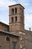 Church of Carmine. Civita Castellana. Lazio. Italy. Royalty Free Stock Photo