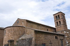 Church of Carmine. Civita Castellana. Lazio. Italy. Royalty Free Stock Image